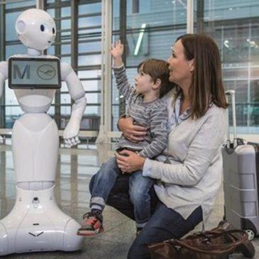 Человекоподобный робот с искусственным интеллектом заработал в аэропорту Мюнхена